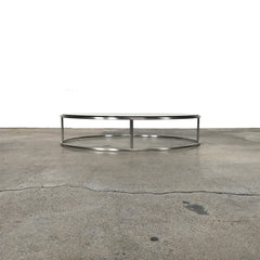 Living Divani ILE Glass Coffee / Side Table by Piero Lissoni (3 in stock)