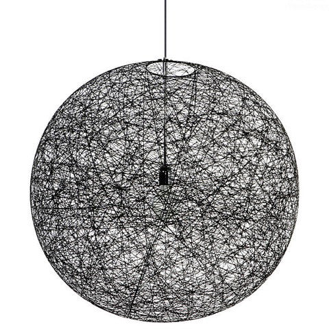 Small Black Moooi Random Suspension Light New and Discounted 40%