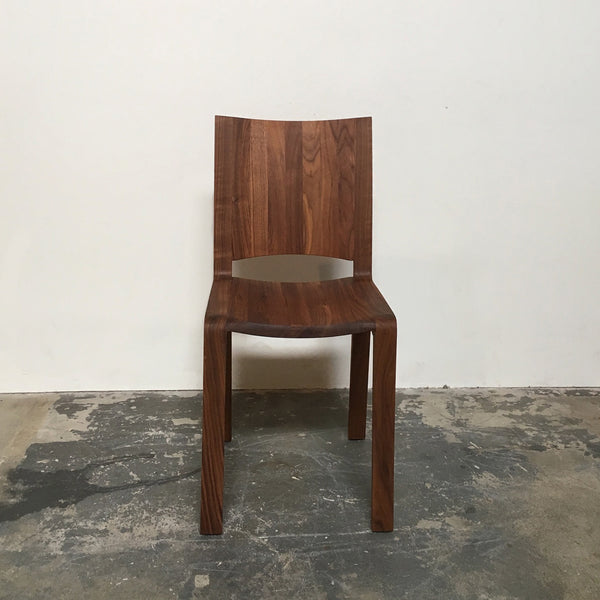 Discounted Riva 1920 Piano Design Walnut Dining Chair by Renzo Piano