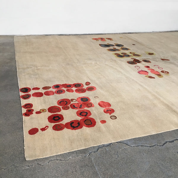 Jag Chartier Contemporary Hand Knotted Rug for Limn Collection