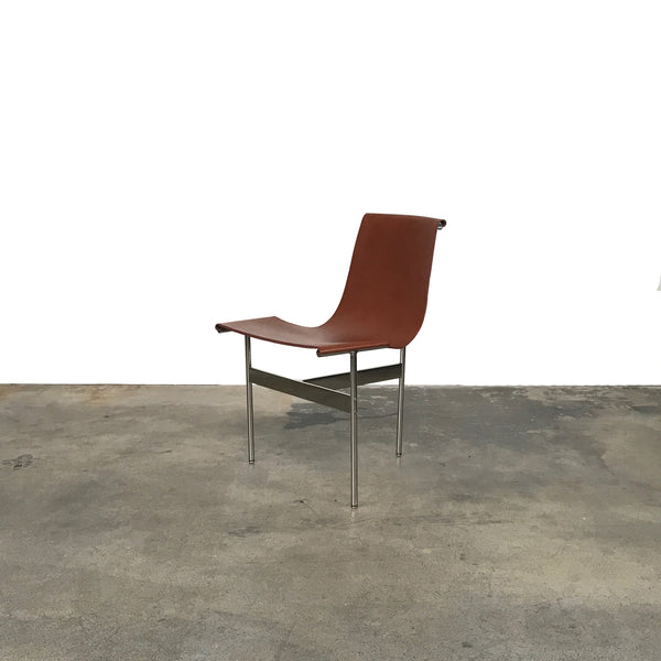 TG-10 Brown Leather Dining Chair | LA | Consignment