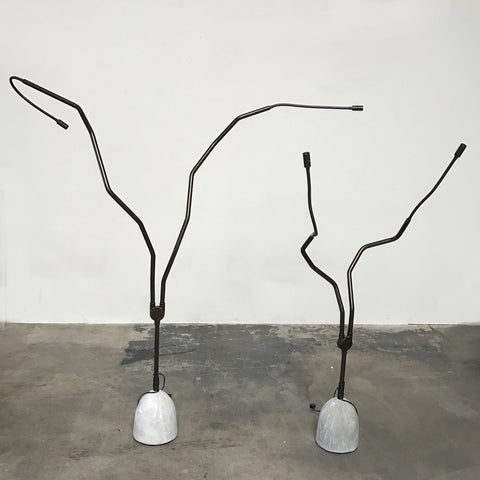 Zeus Tree Light Floor Lamp by Ron Arad #825 Short