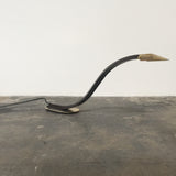 Vintage Brass & Leather Desk Lamp