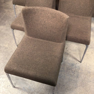 Vintage Brown Italian Dining Chair (6 in stock)