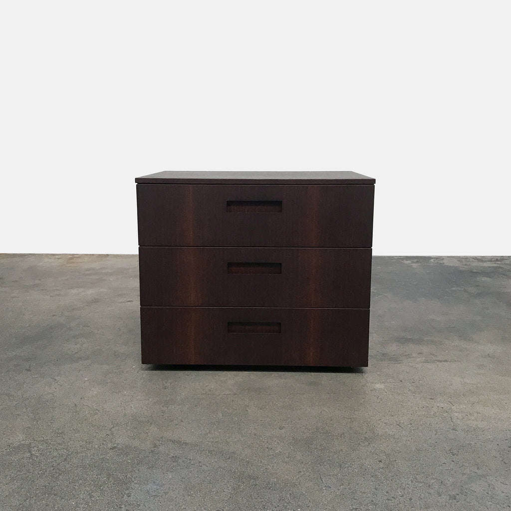 Cappellini-Wenge-3-Drawer Dresser | LA | Consignment