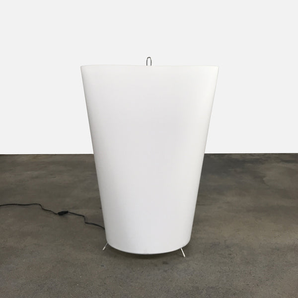 Cappellini White Fabric 9816 Table / Floor Lamp by Marcel Wanders