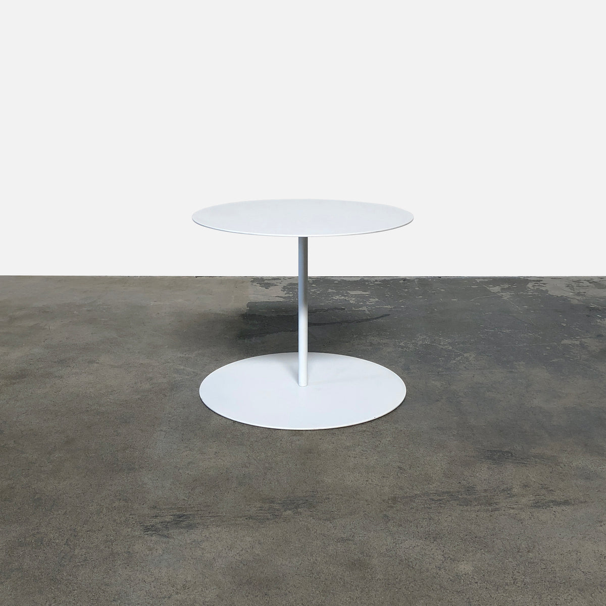 Cappellini White Gong Side Table