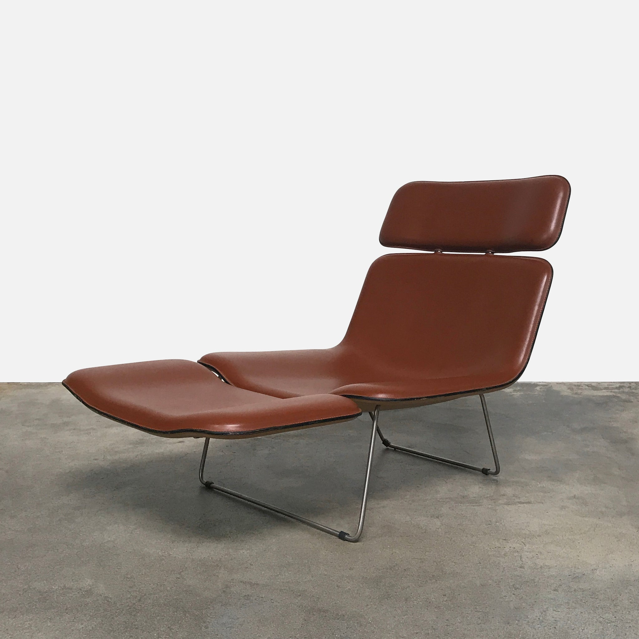 sidelow pastel lngchr chair neutrals ink lounge in market products leather neat modern