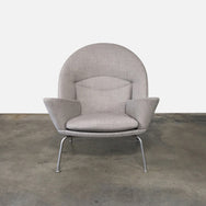 Carl Hansen and Son Oculus Lounge Chair by Hans J Wegner