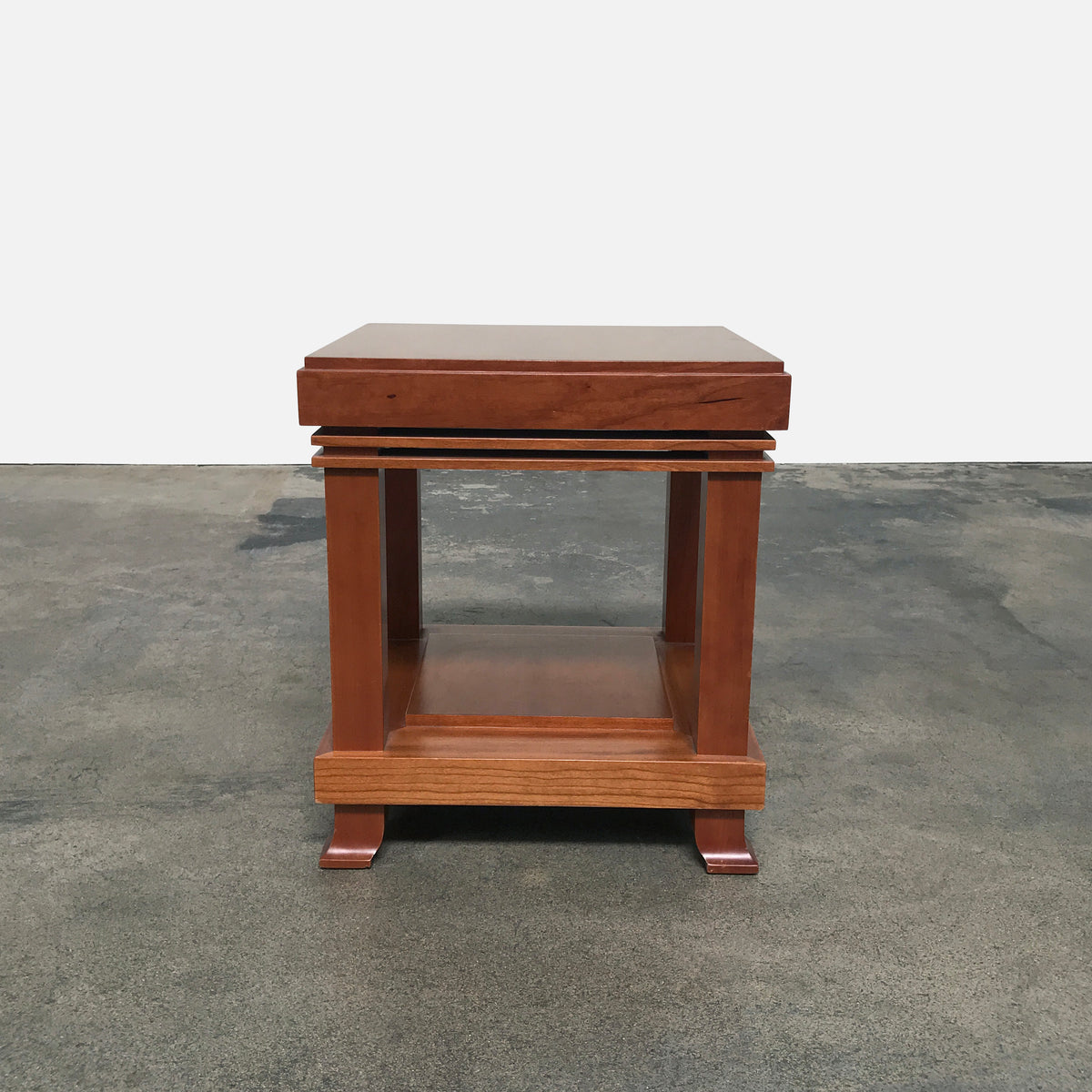 Cassina 610 Robie 2 Side Table / Stool by Frank Lloyd Wright