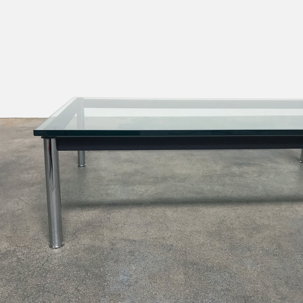 Cassina LC10-P Low Coffee Table by Pierre Jeanneret Charlotte Perriand