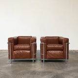 LC2 Lounge Chairs (2)