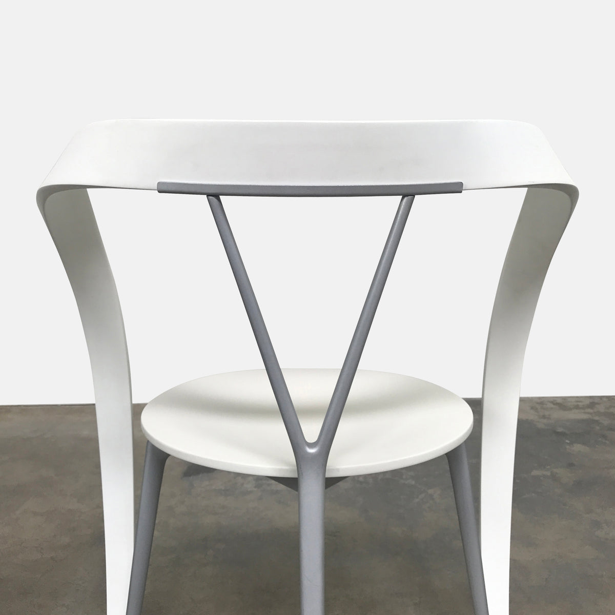 White Revers Chair (2 in stock)