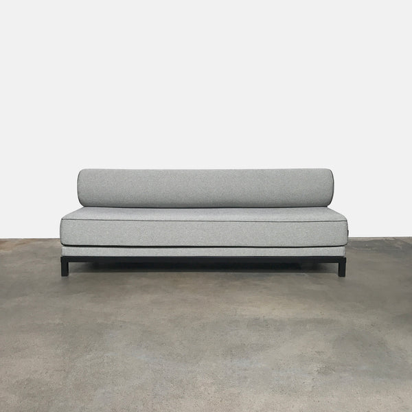 DWR Black/White Twilight Sleeper Sofa by Flemming Busk