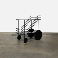 Come As You Are Rolling Bar Cart