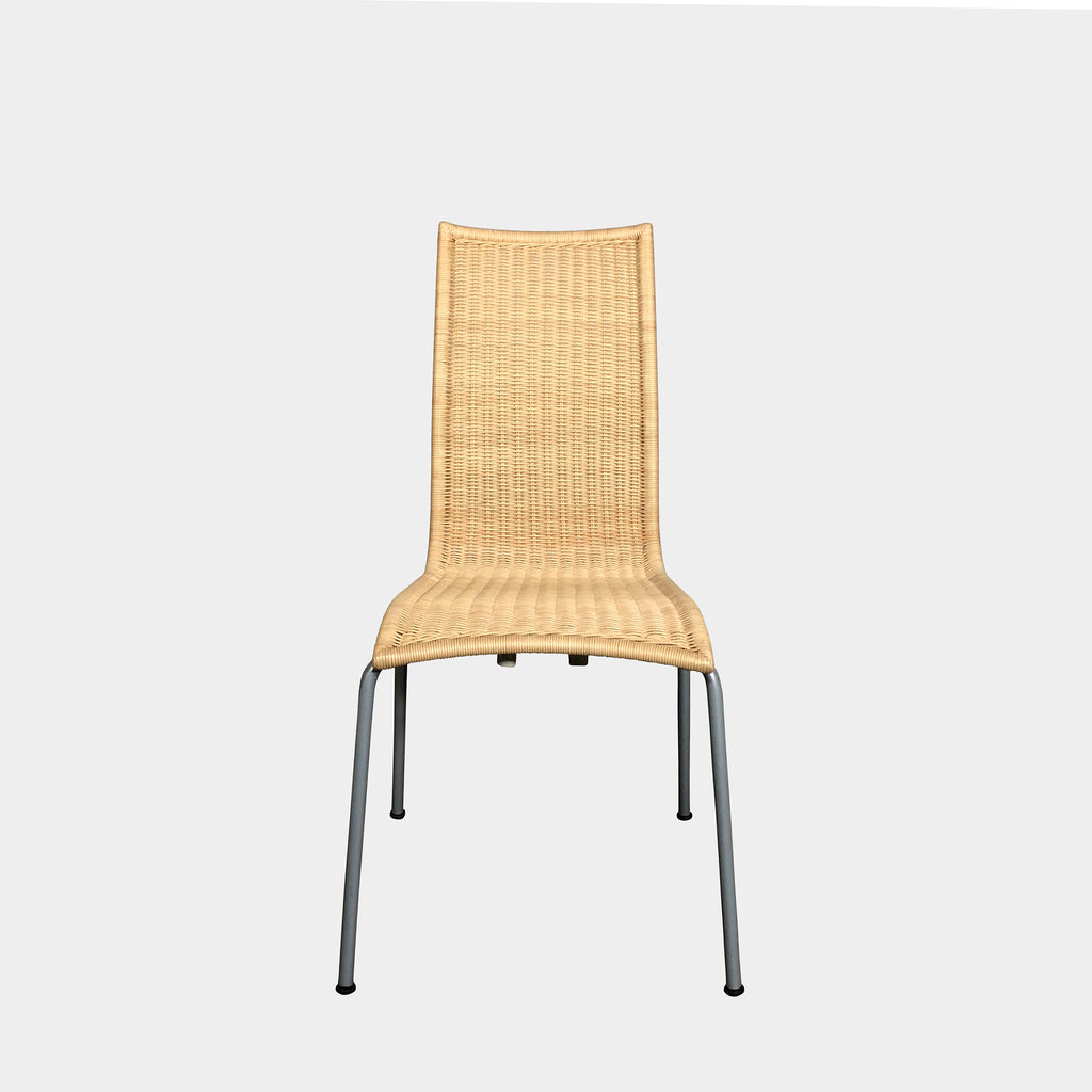 Driade 'Alchemilla' Wicker Stacking Chair by Miki Astori