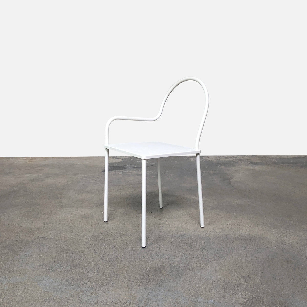 Nendo Thin White Softer Than Steel Dining Chair | LA | Consignment