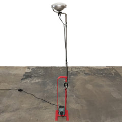 Flos Toio Red Floor Lamp | LA | Consignment