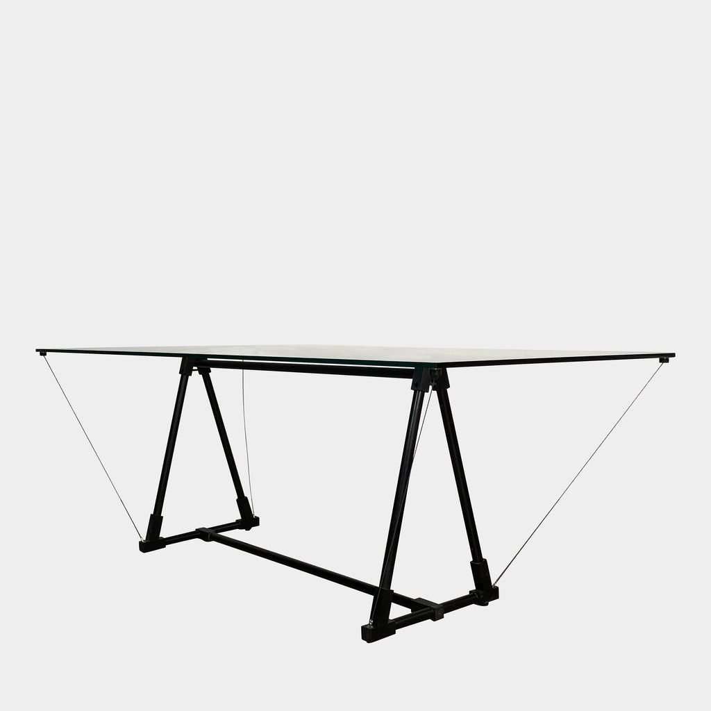 Fontana Arte Glass Dining Multi-Functional Table