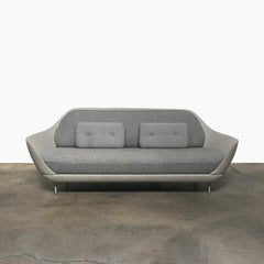 Fritz Hansen Gray Fabric Favn Sofa by Jaime Hayon | LA | Consignment