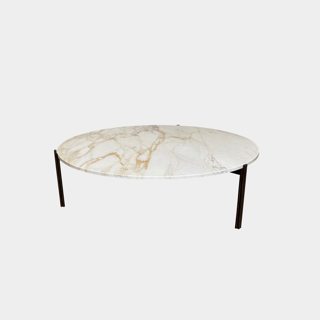 Gallotti and Radice Twelve Marble Coffee or Side Table by Massimo Castagna. Showroom sample and in stock. Save thousands of dollars online or in our designer furniture outlet. Shop upscale furniture consignment from Los Angeles elite homes, showroom closings, overstock & liquidations. 40-70% discount below retail.