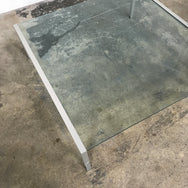 Modern Glass Coffee Table | LA | Consignment