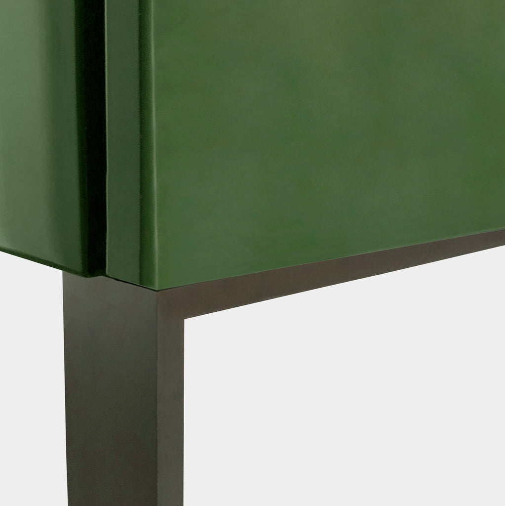 Green Lacquer Storage Unit