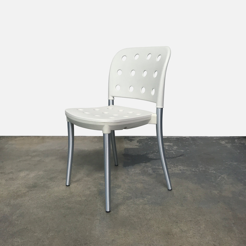 White Minni Sgabello Dining Chair (4 in stock) - $79 each, Dining Chair - Modern Resale