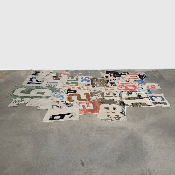 Henzel Studio '123,425,78910' Rug by Richard Prince