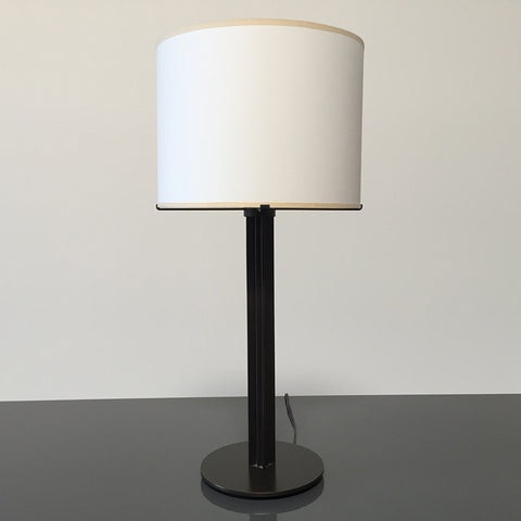 Holly Hunt Bronze Column Table Lamps | Los Angeles | Consignment