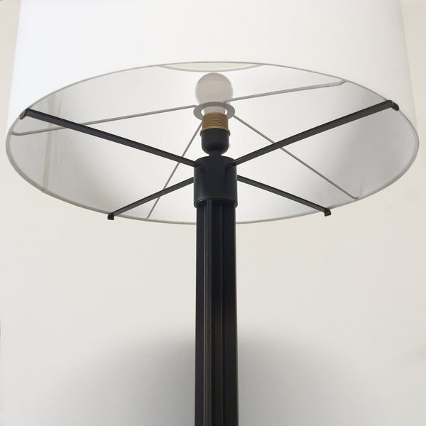 Holly Hunt Bronze Column Floor Lamp | Los Angeles | Consignment