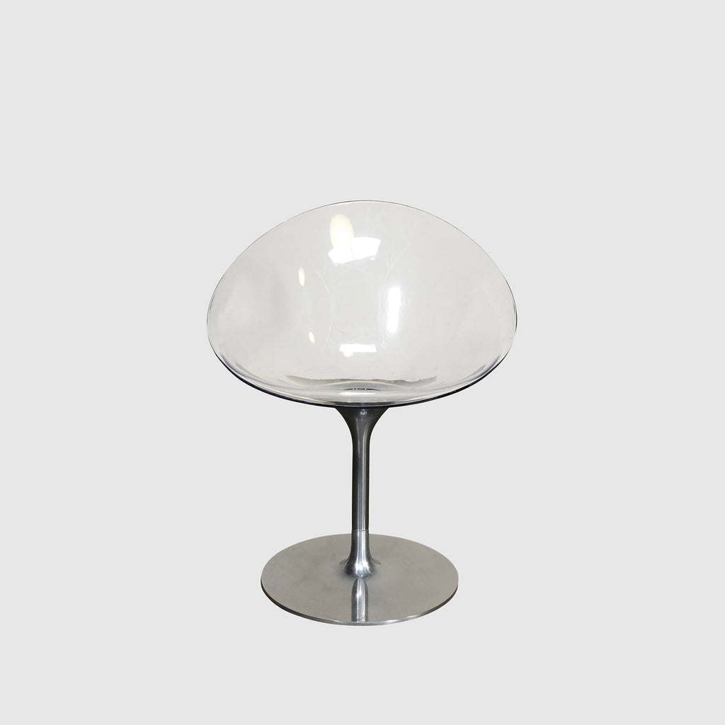 Kartell 'Eros' Transparent Chair by Philippe Starck (2 in stock)