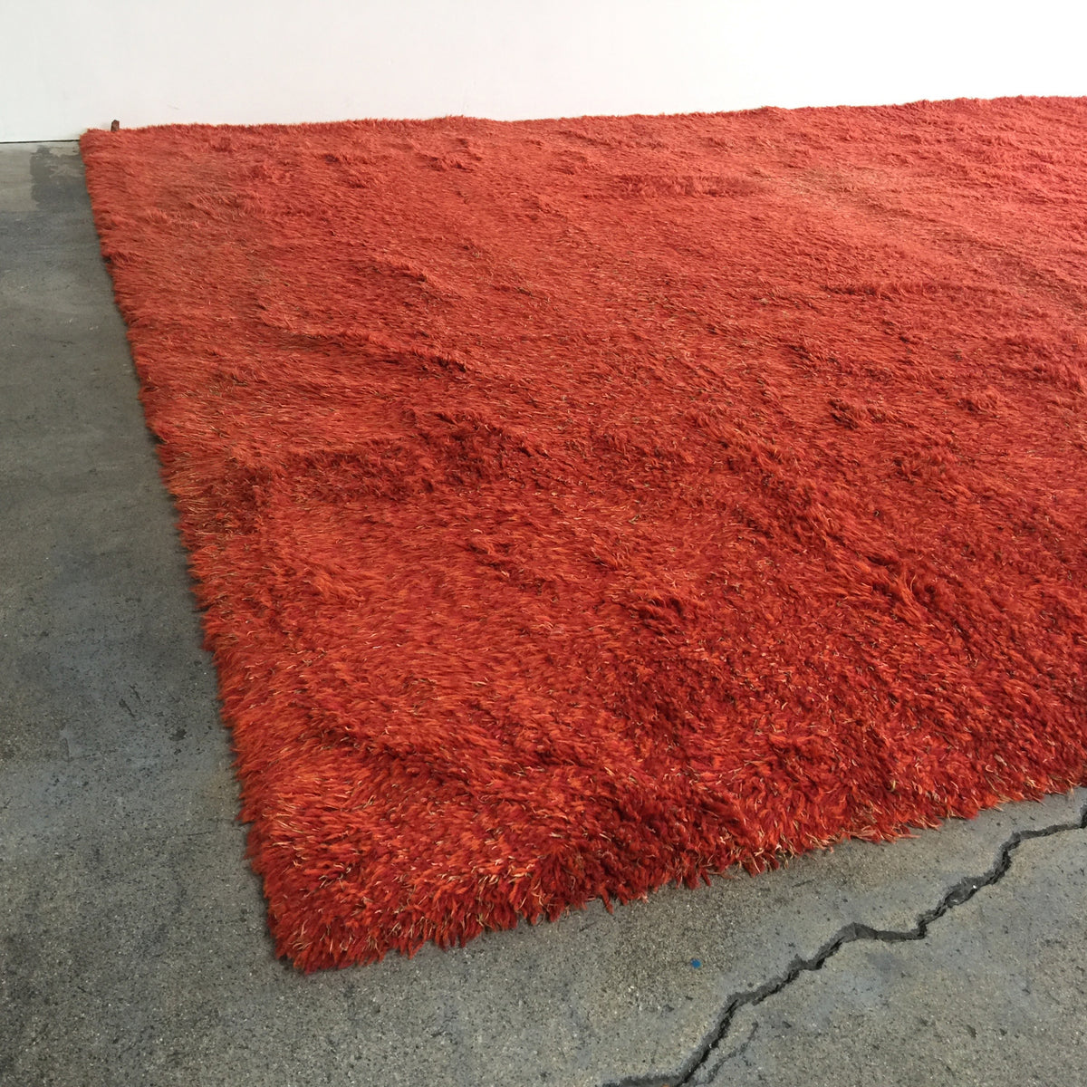 "Kasthall Moss No. 7 Rug 128"" x 108"" Orange 