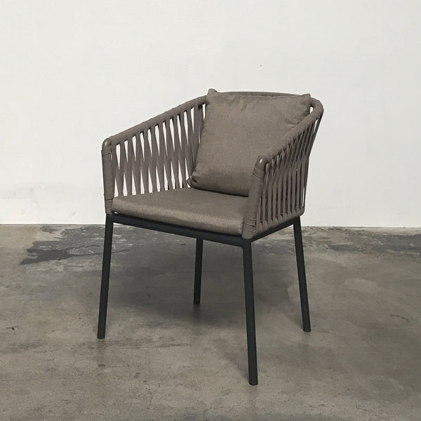 Kettal Bitta Rope Outdoor Dining Armchair