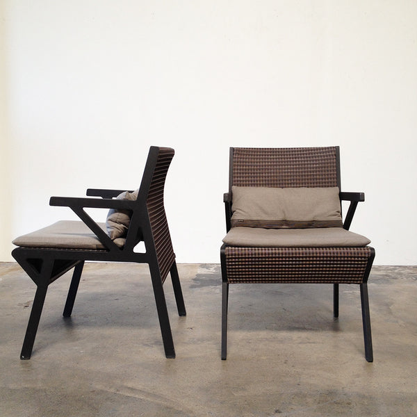 Kettal Vieques Outdoor Chairs (2)
