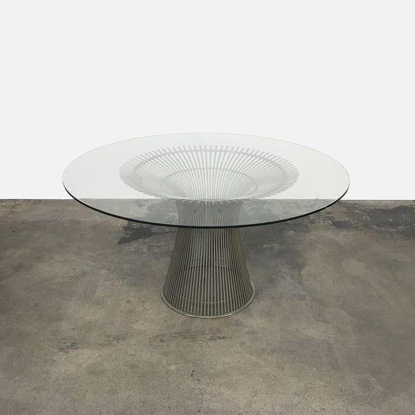 Knoll Platner Dining Table by Warren Platner | LA | Consignment