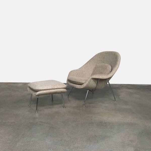 Womb Chair & Ottoman - Medium