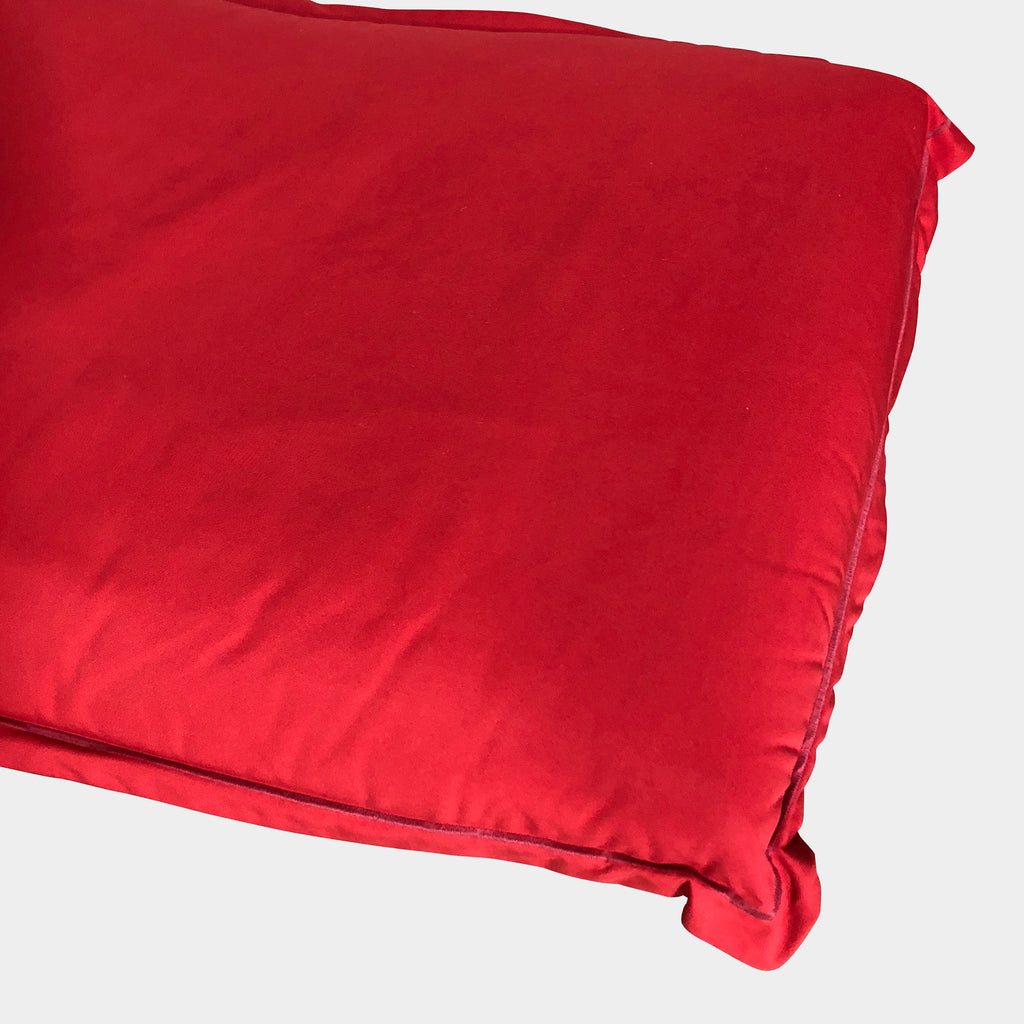 Red Calin Ottoman, Ottoman - Modern Resale