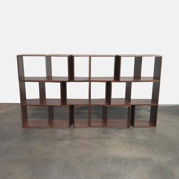 Cuts Stackable Walnut Shelves (4 rows in stock)
