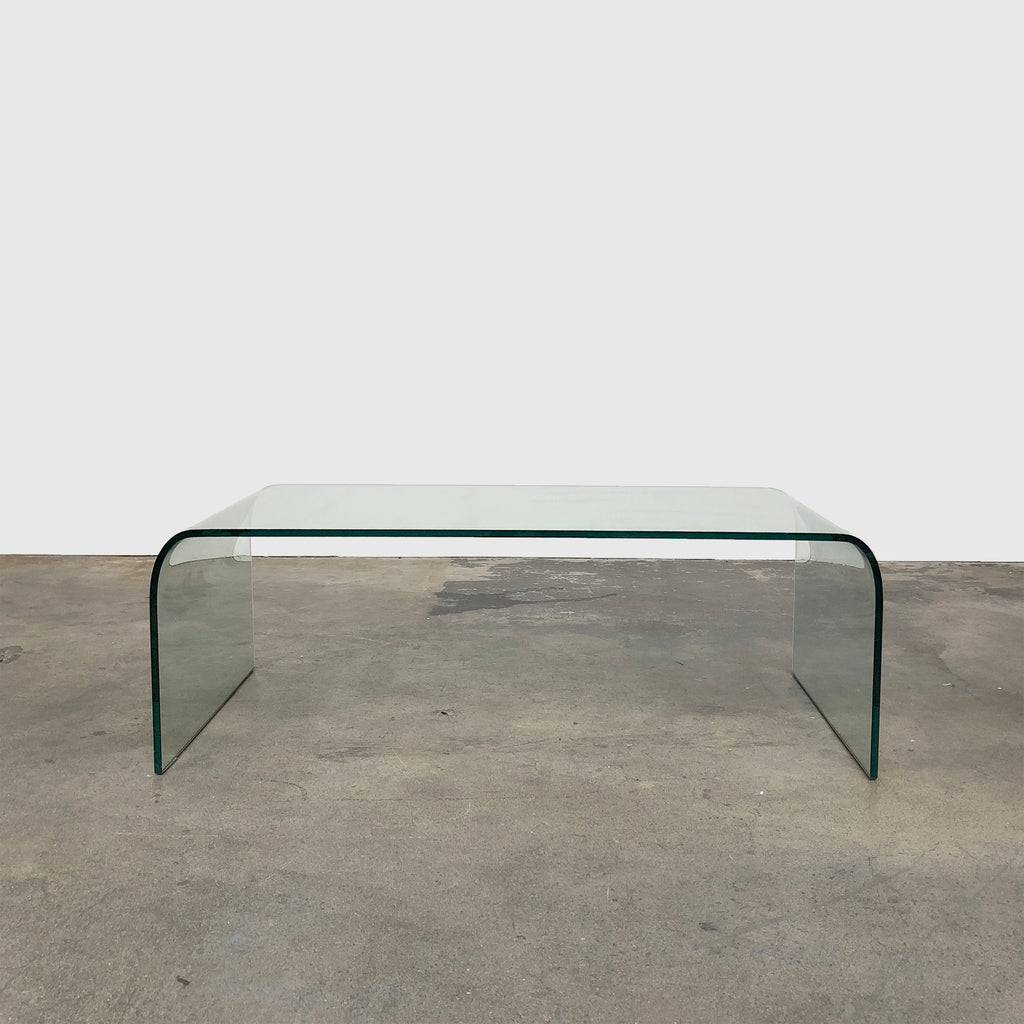 Pont Clear Glass Coffee Table