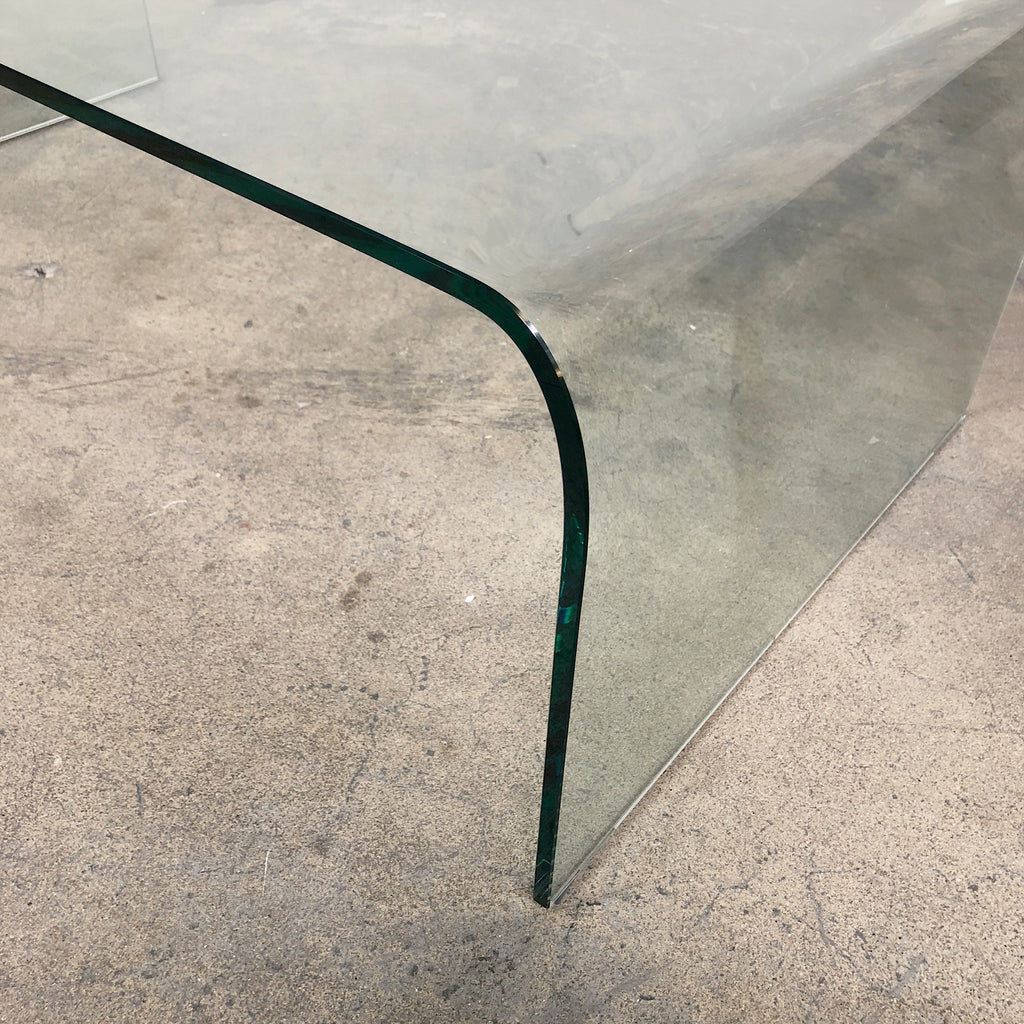 Pont Glass Coffee Table - Modern Resale