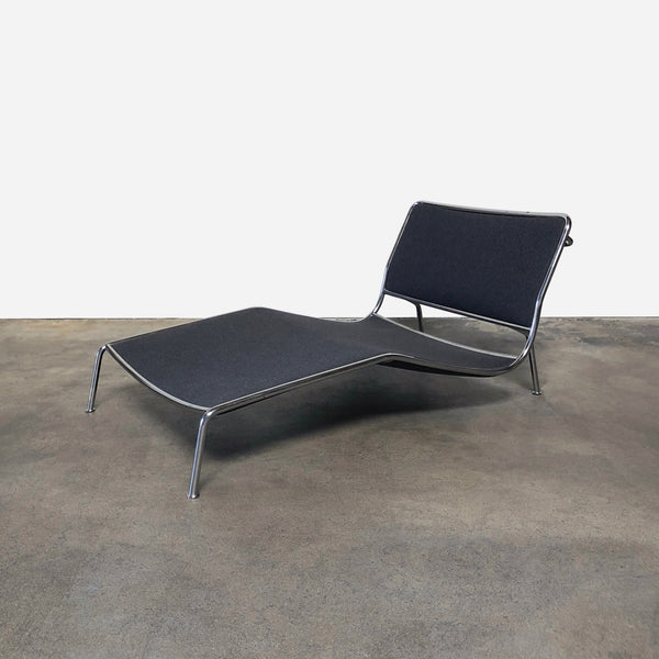 Frog Chaise Lounge Chair - Gray