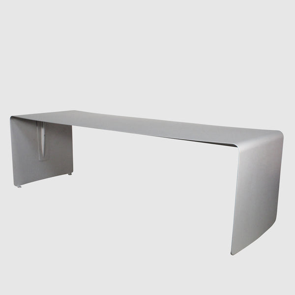 MDF Italia 'La Grande' Aluminum Dining Table by Xavier Lust