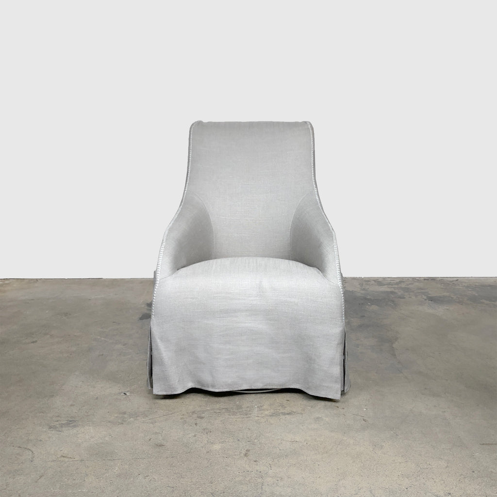 Maxalto 'Agathos' Gray Swivel Chair (2 in stock) by Antonio Citterio