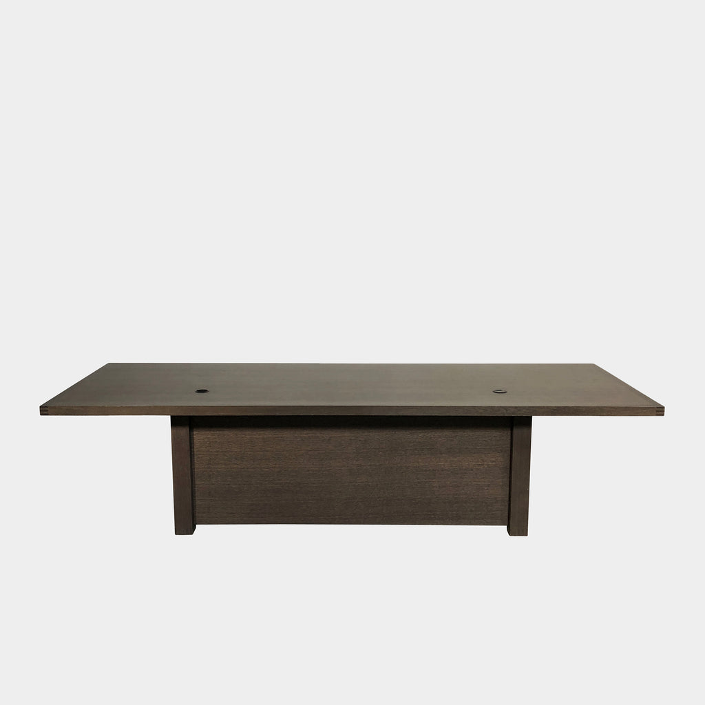 Maxalto 'Executive' Gray Oak Desk