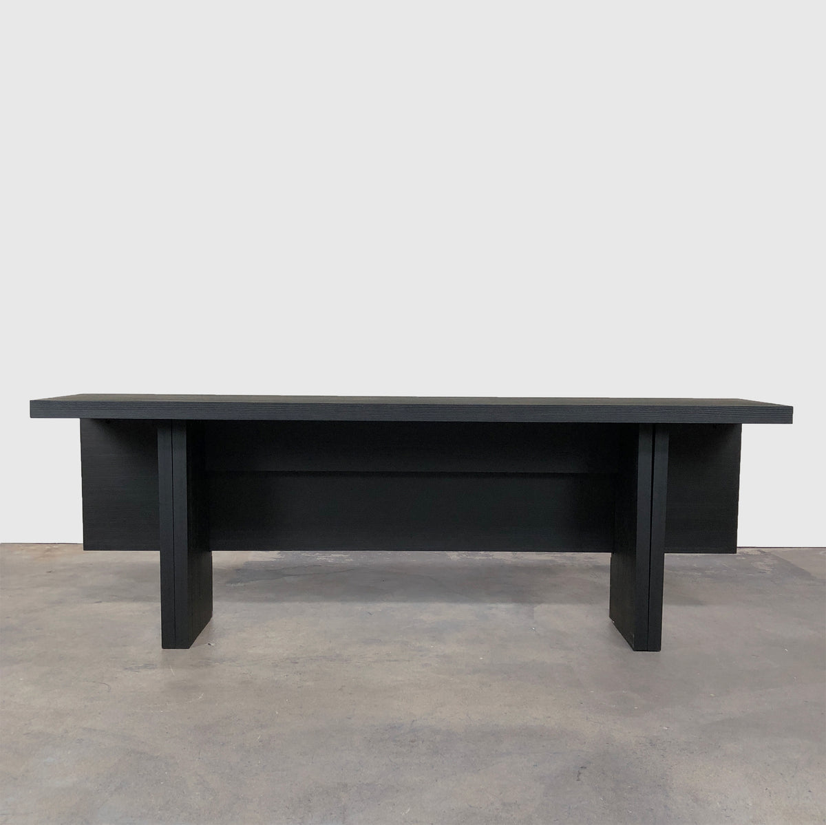 Maxalto Black Oak 'Sibilla' Dining Table / Console by Antonio Citterio