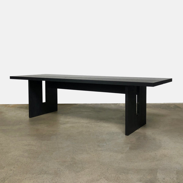 Maxalto Black Oak Sibilla Console / Dining Table By Antonio Citterio