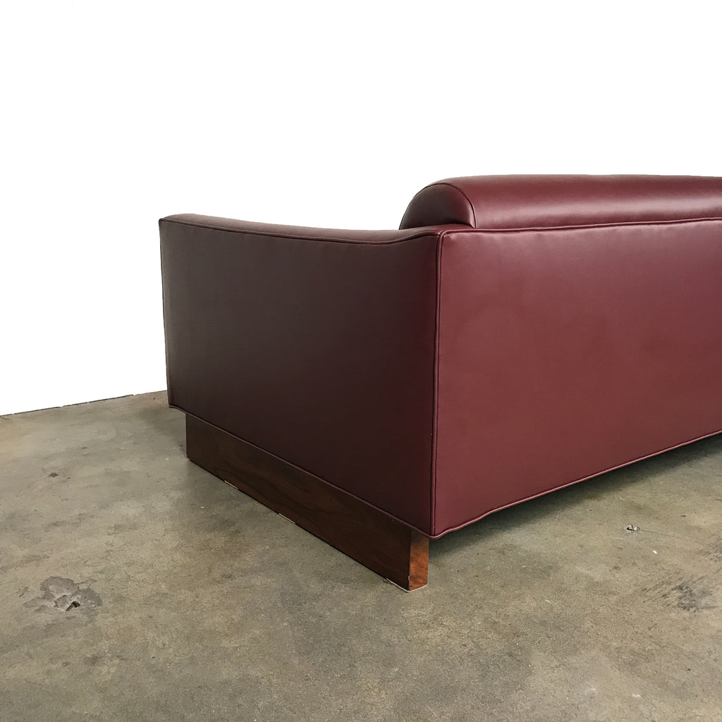 Tufted Leather Sofa, Sofa - Modern Resale