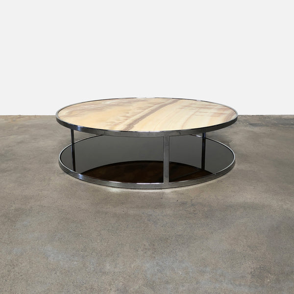 Minotti Etruscan Oynx Huber Low Coffee Table | LA | Consignment