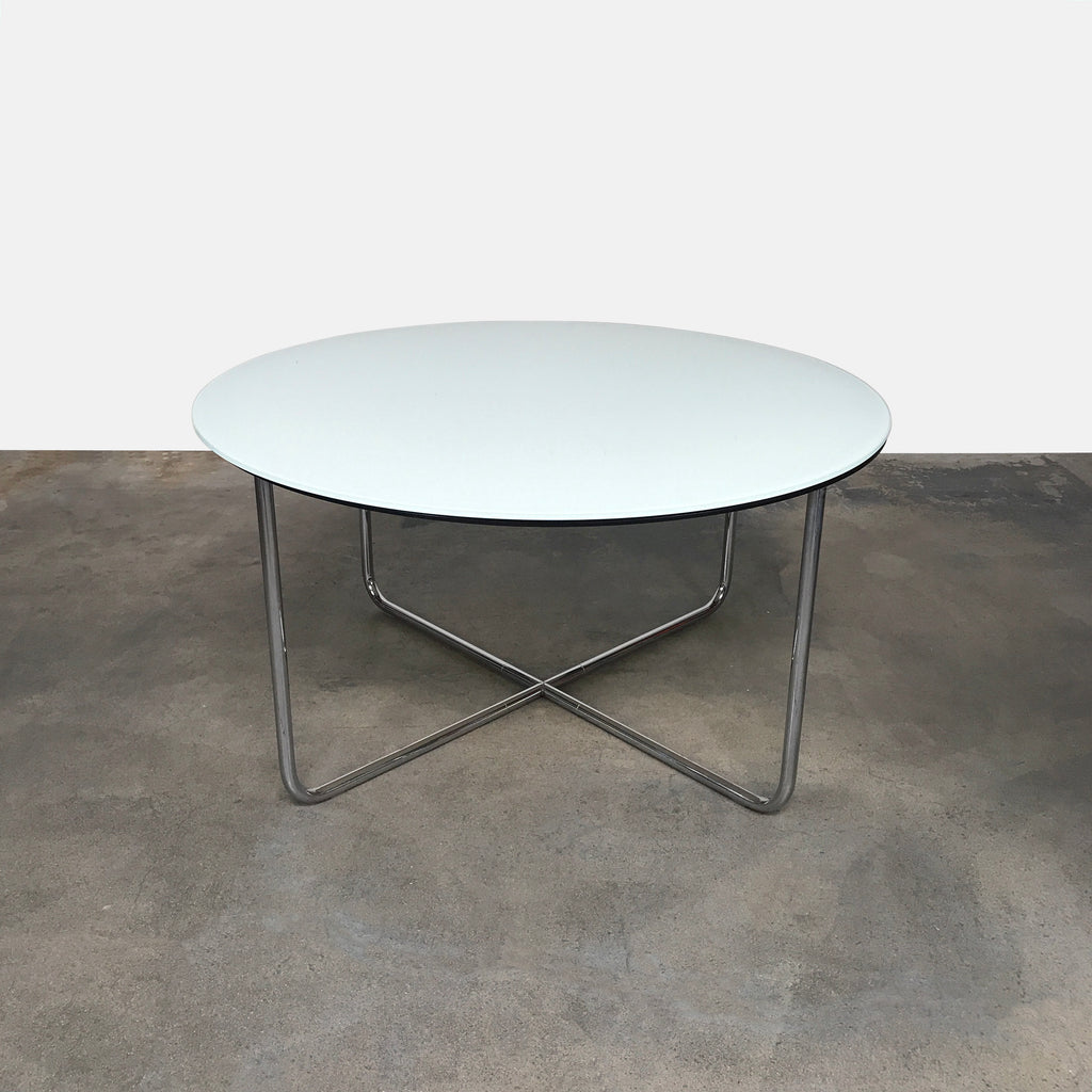 Louis Glass Dining Table, Dining Table - Modern Resale